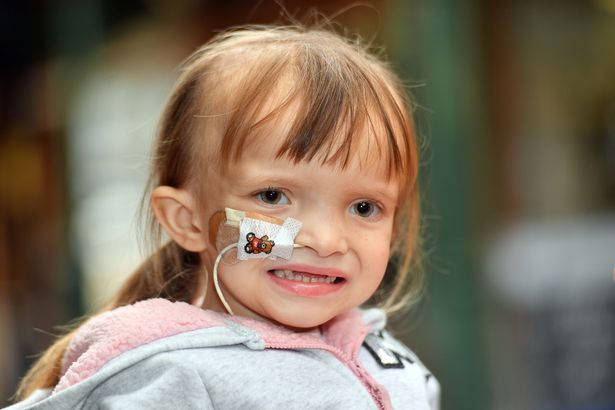 This beautiful four-year-old girl has a cancerous brain tumour doctors can't remove